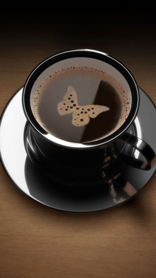 Butterfly in Cup