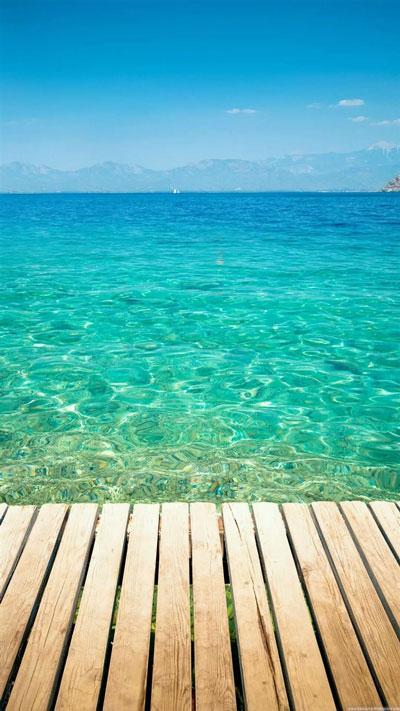 Clear Tropical Ocean