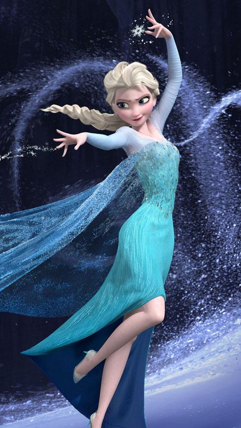 Frozen ice Princess