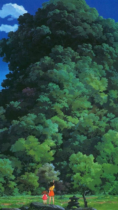 Зелено дърво