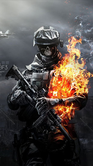 Fire soldier