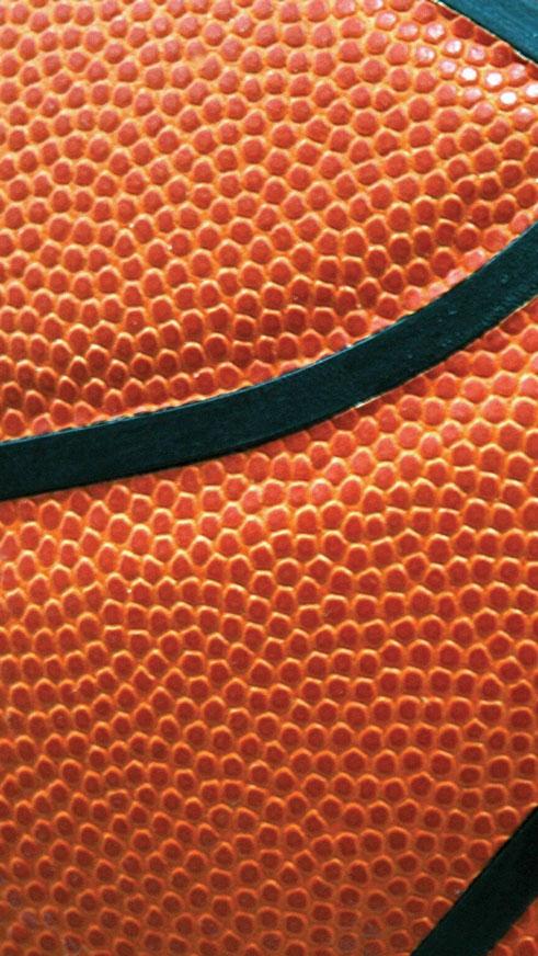 Basketball Texture, Close Up