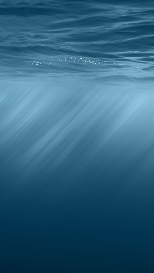 Apple iOS 8 Underwater Android Wallpaper