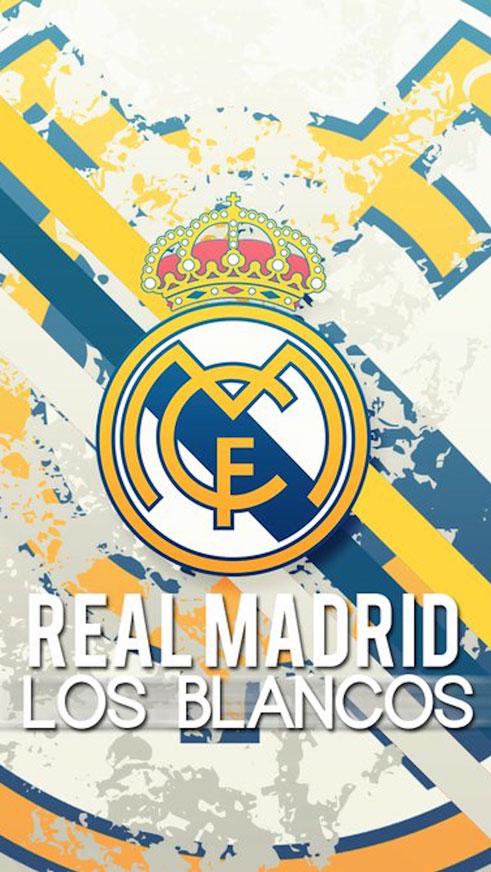Real Madrid Logo Vector Wallpaper