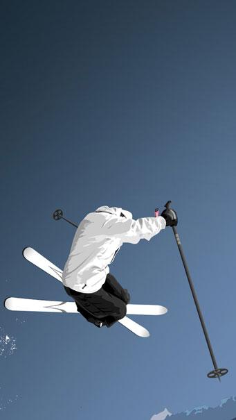 Olympic Games, Freestyle Ski Wallpaper