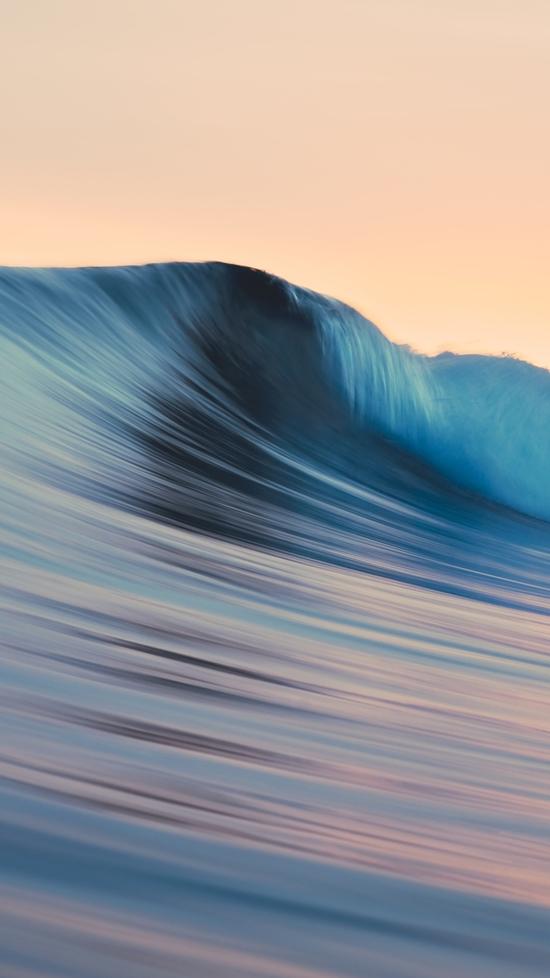 Mac os x apple mavericks waves wave iPhone Wallpaper