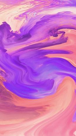 Hurricane swirl abstract, art paint purple pattern