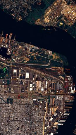Earthview sea city nature art