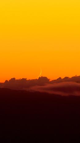 Sky orange sunset nature