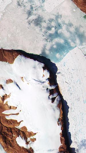 Earthview snow winter ice art arctic iphone6 wallpaper
