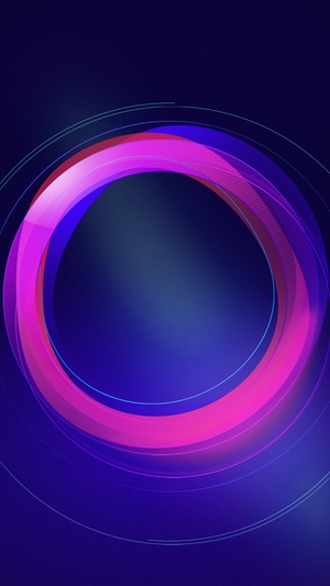 Circle-abstract-blue-pattern-background