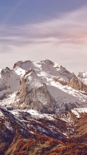 mountain-rock-nature-snow-winter-flare