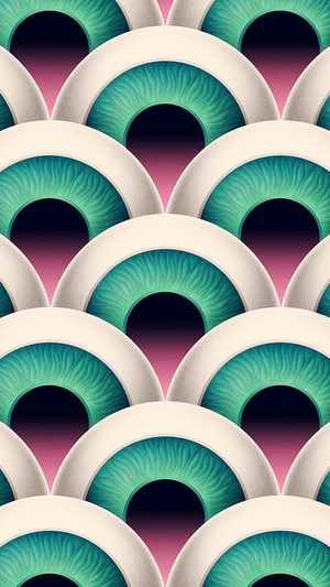 eye-duplicate-pattern