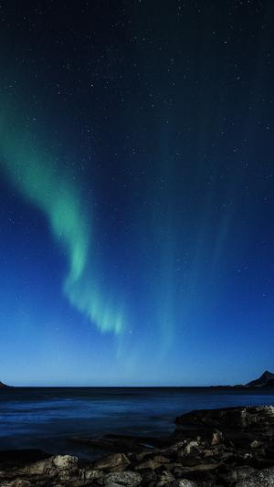 aurora-night-sky-star-beautiful-space-sea-blue