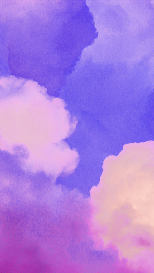 sky-purple-pastel-art