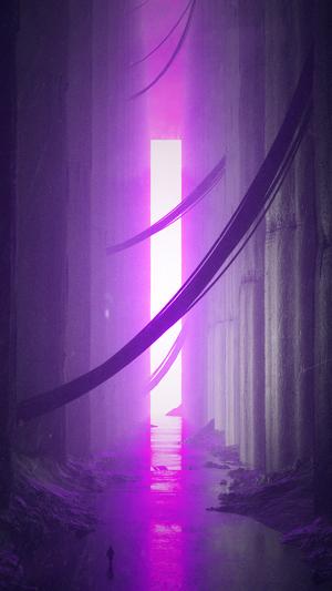 Space-stuart-pink-light-pattern