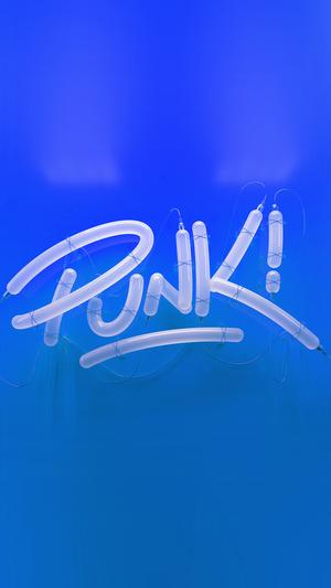 punk-neon-sign-art-minimal-illustration-art-blue