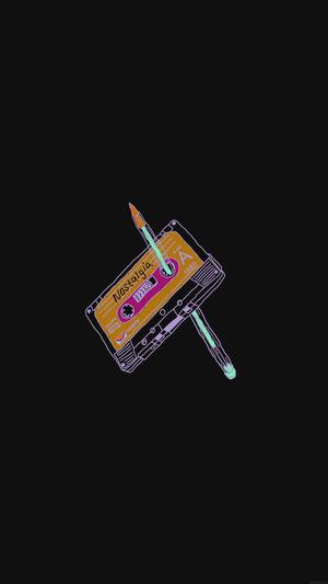cassette-tape-old-illust-minimal-dark