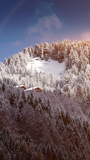 snow-mountain-wood-home-winter-nature-flare