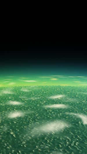 alien-green-earth-space-planet-dark
